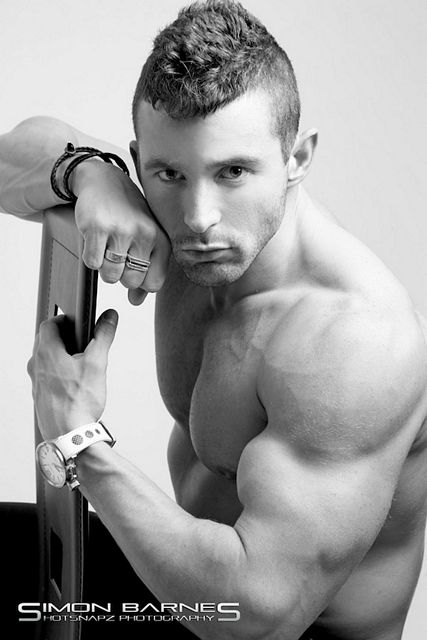 Ripped And Pumped James Alexander-Ellis   Daily Dudes @ Dude Dump