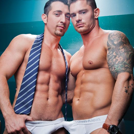 Muscle stud Jimmy Durano and Mitchell Rock | Daily Dudes @ Dude Dump
