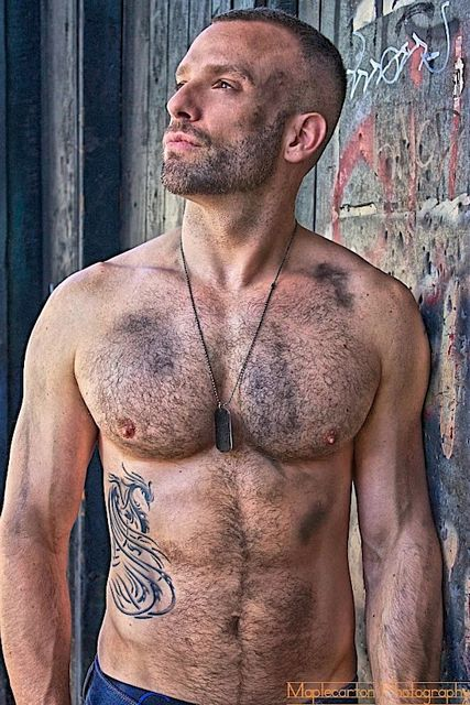 Hairy Muscle Dude JP Grimard | Guys R Us | Daily Dudes @ Dude Dump