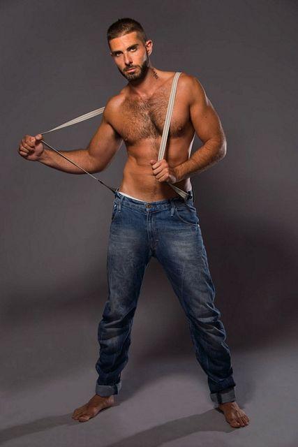 Hairy Male Model Jordan | Guys R Us – We've got t | Daily Dudes @ Dude Dump