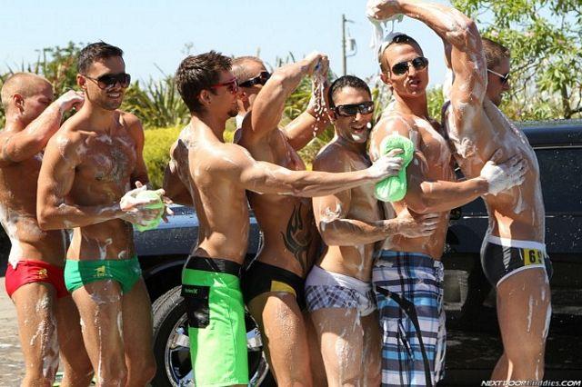Hot Guy Car Wash | Daily Dudes @ Dude Dump