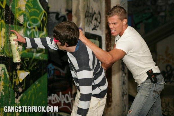 Gay forced a sprayer | Daily Dudes @ Dude Dump