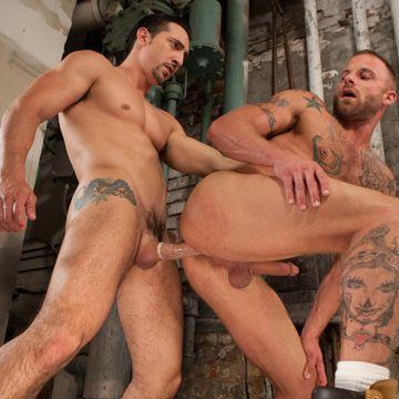 Derek Parker Takes Muscle Jock Cock | Daily Dudes @ Dude Dump