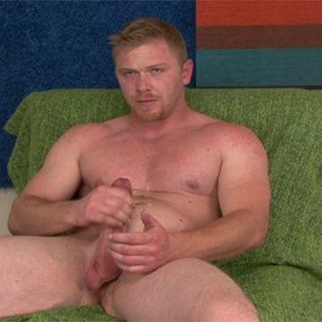 Straight Kent Jerks His Huge Cock | Daily Dudes @ Dude Dump