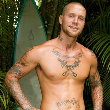 Hung Surfer Jerking Off | Daily Dudes @ Dude Dump