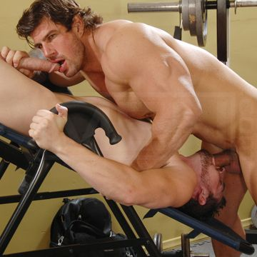 Zeb Atlas And Andrew Stark Share Hard Muscle Cock | Daily Dudes @ Dude Dump