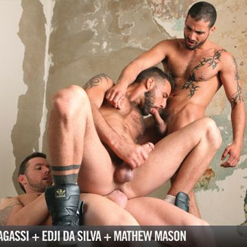 Awesome Gay Threesome Video With A Trio Of Hunks | Daily Dudes @ Dude Dump