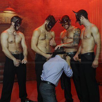 Five Man Gay Orgy For Dean Monroe | Daily Dudes @ Dude Dump