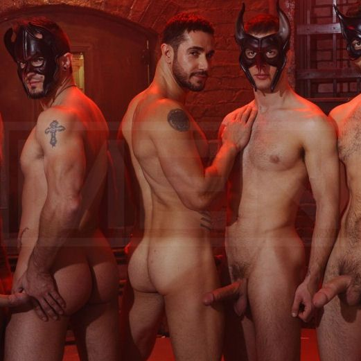 Masked Men 2 — Phenix gets fucked | Daily Dudes @ Dude Dump