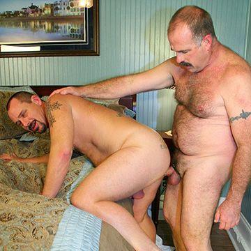 Pounding Bear Butt   Daily Dudes @ Dude Dump