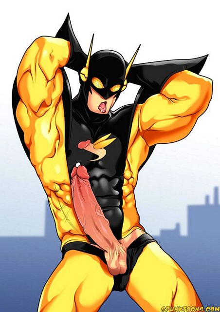 Hardcore Gay Superheroes With Big Cartoon Cocks | Daily Dudes @ Dude Dump