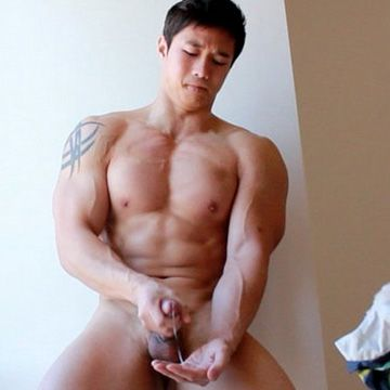 Asian Muscle Boy Jacking Off | Daily Dudes @ Dude Dump