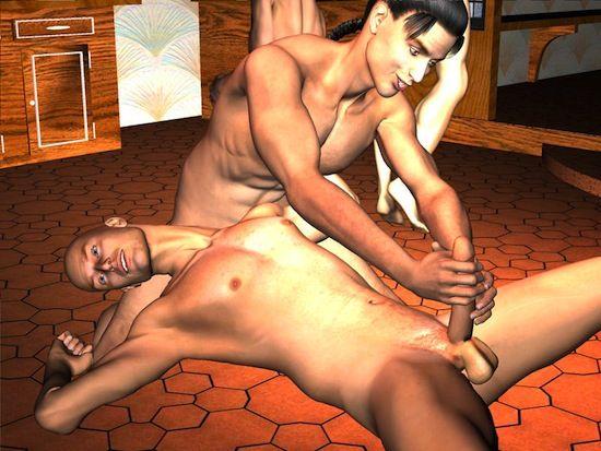 Hardcore Gay 3D Cartoon Action   Gay Toon Blog   Daily Dudes @ Dude Dump