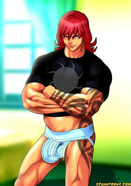 Horny Muscled Gay Jock Cartoon Guys | Gay Anime an | Daily Dudes @ Dude Dump