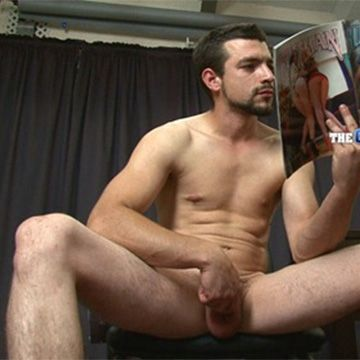 Tough Str8 Stud Alfonso's First Audition | Daily Dudes @ Dude Dump