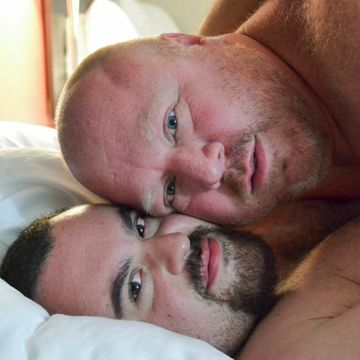 A Big Bear Cum Shot With Billy Thorne And Taylor.. | Daily Dudes @ Dude Dump