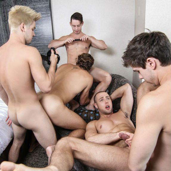 A big Pop Star orgy | Daily Dudes @ Dude Dump