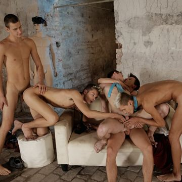A Five Boy Gay Gangbang Video At Staxus | Daily Dudes @ Dude Dump