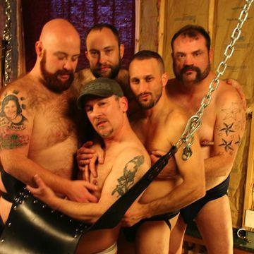 A Gay Bear Orgy From Bear Films! | Daily Dudes @ Dude Dump