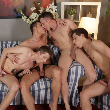 A Gay Fourgy Of Student Cock For Teacher Johan   Daily Dudes @ Dude Dump