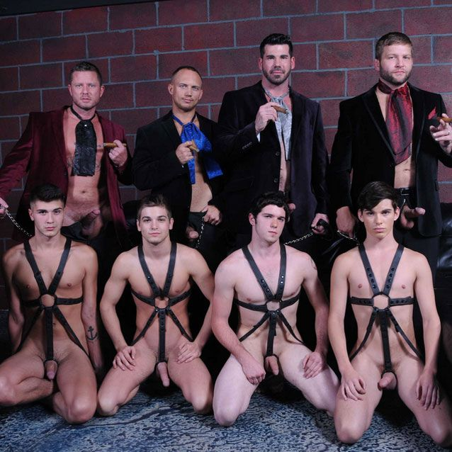 A super hot eight guy orgy | Daily Dudes @ Dude Dump