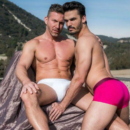 "Aaden Stark & Tomas Brand in ""Fag Fuckers"" par | Daily Dudes @ Dude Dump"