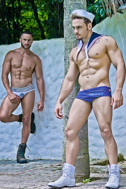 Able Seamen Fabio Santana And Junior Bryan! | Daily Dudes @ Dude Dump