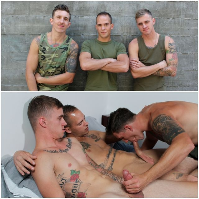 Active Duty Raw Threeway | Daily Dudes @ Dude Dump