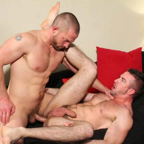 Adam Herst fucks Scott Hunter | Daily Dudes @ Dude Dump