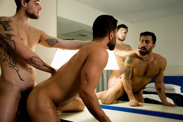 Adam Ramzi used as a Justin Brody's fuck hole | Daily Dudes @ Dude Dump