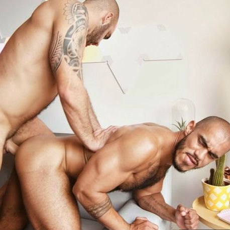 Adam Sahar gives his big cock to Louis Ricaute | Daily Dudes @ Dude Dump