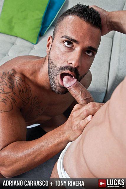 Adriano Carrasco fucks Tony Rivera | Daily Dudes @ Dude Dump