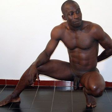 African Muscle Man Sam | Daily Dudes @ Dude Dump