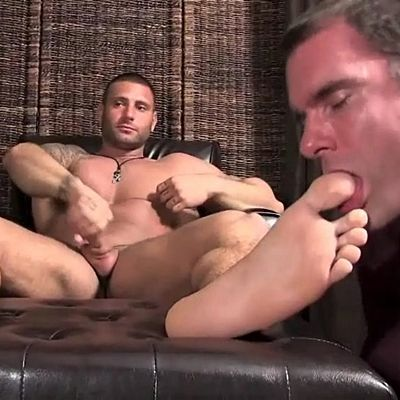 Aggressive Foot Top Mike Buffalari Worshiped | Daily Dudes @ Dude Dump