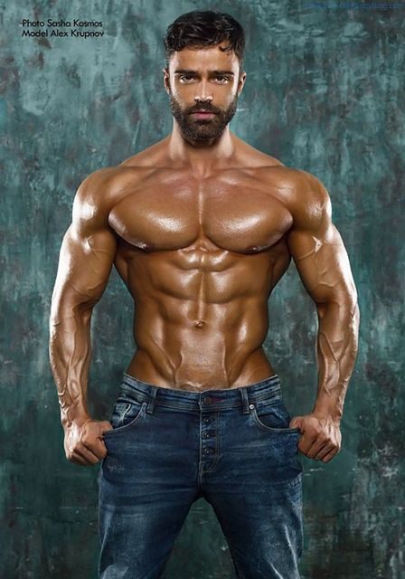 Alex Krupnov Is One For All The Real Muscle Lovers | Daily Dudes @ Dude Dump