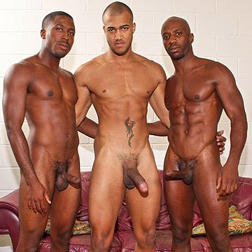 All Black Threeway Fuck | Daily Dudes @ Dude Dump