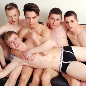 An Amazing Twink Orgy From Staxus | Daily Dudes @ Dude Dump