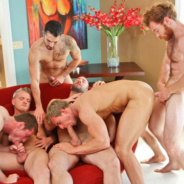 An Incredible Gay Jock Orgy From Next Door Buddies | Daily Dudes @ Dude Dump