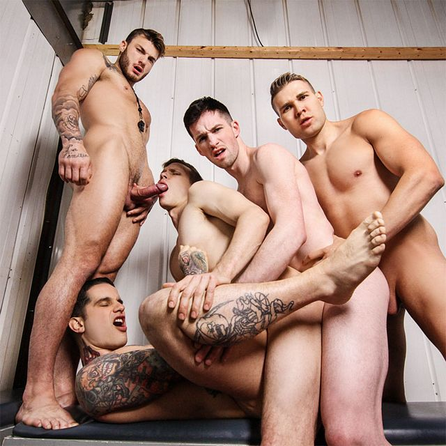 An orgy with coach William | Daily Dudes @ Dude Dump