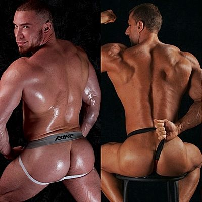 Angelo, Johnny & Peter Show off Hot Asses | Daily Dudes @ Dude Dump