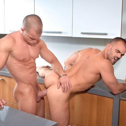 Antonio Aguilera pounds Damien Crosse | Daily Dudes @ Dude Dump