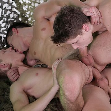 Army Bareback Fun | Daily Dudes @ Dude Dump