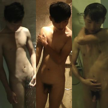 Asian Boyz Shower After Cumshots | Daily Dudes @ Dude Dump