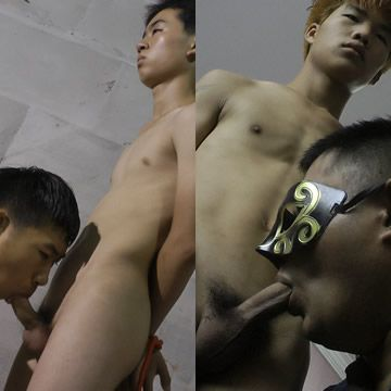 AsianGuys Bound Blowjobs | Daily Dudes @ Dude Dump
