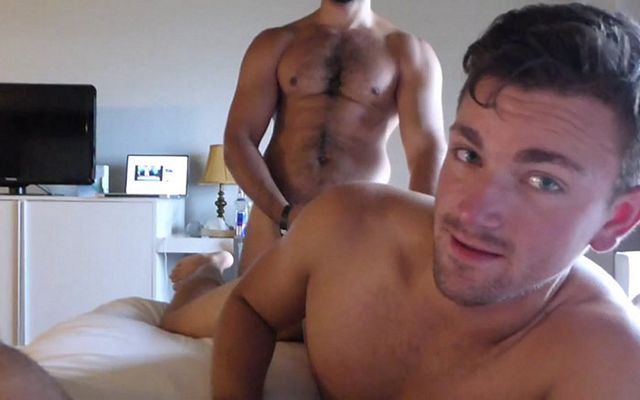 Ass-virgin Anthony gets raw-fucked by hot couple | Daily Dudes @ Dude Dump