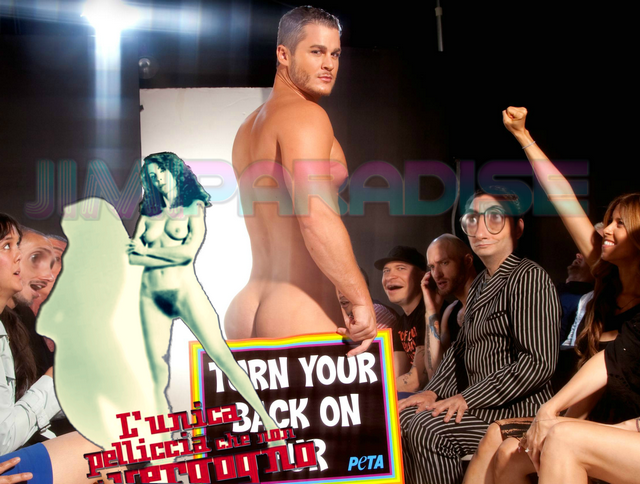 Austin Armacost big naked ass for PETA! | Daily Dudes @ Dude Dump