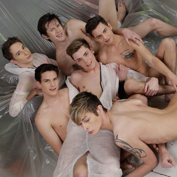 Awesome Twink Orgy Loads of Fucking! | Daily Dudes @ Dude Dump
