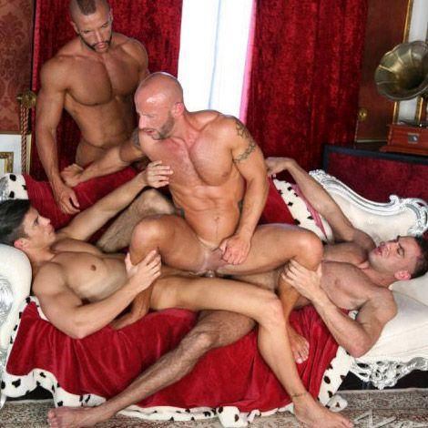 Aymeric Deville gets double-fucked | Daily Dudes @ Dude Dump