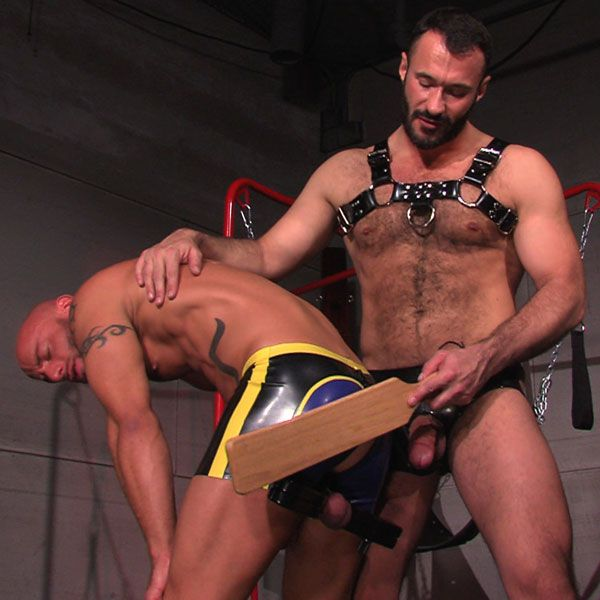 Aymeric gets a spanking | Daily Dudes @ Dude Dump