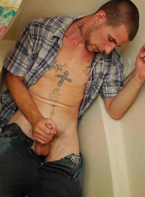 Bad boy Chain has some solo piss fun | Daily Dudes @ Dude Dump